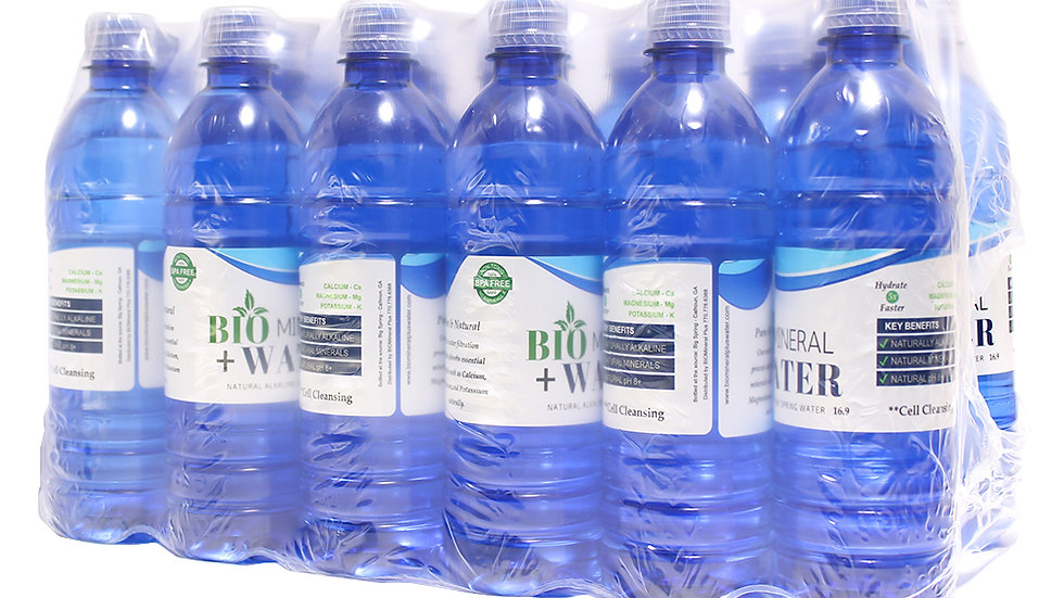 24 Pack Alkaline Water