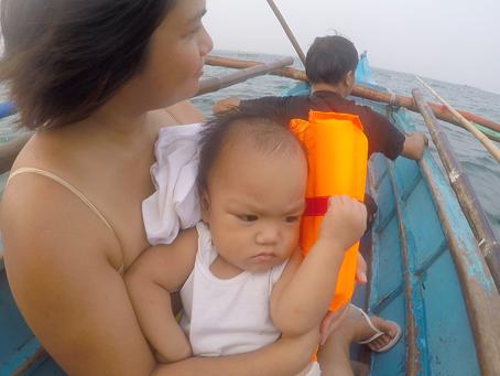 Little White Kid in Mindanao