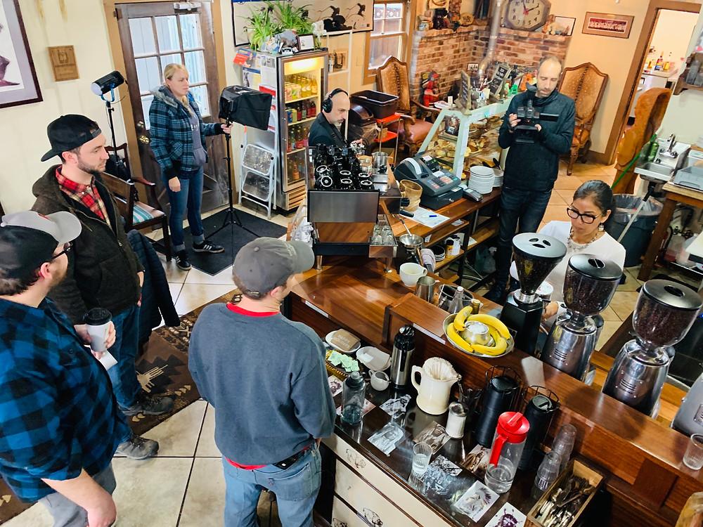 Cast & Crew @ Bison Coffee House