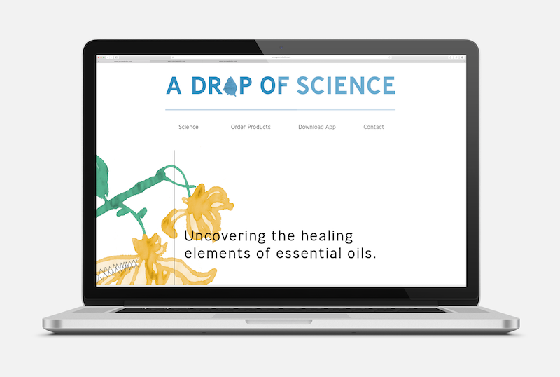 A Drop of Science Website