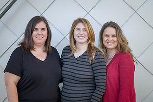 Michelle Hicker, Natasha Newton, Jessica Darroch - VIDSS founding members