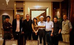 46 2010 06 访问深圳大学艺术学院院长齐凤阁教授.jpg