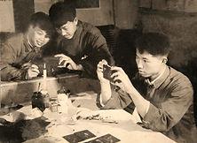 03 1976 在如东县文化馆创制幻灯片.jpg