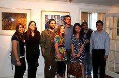 45 2010 05 丛和他的历届版画助理在瑞邬达利画廊画展.jpg