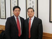 39 2008 11 母校校庆见到著名校友,全国政协副主席李金华.jpg
