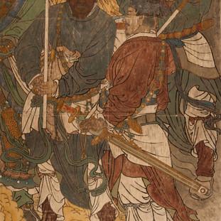 永乐宫壁画天丁力士