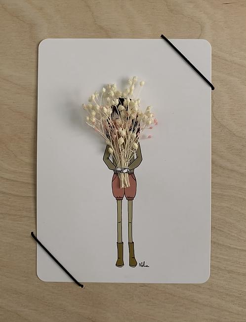 """Blumenkarte """"LE GROS BOUQUET"""""""