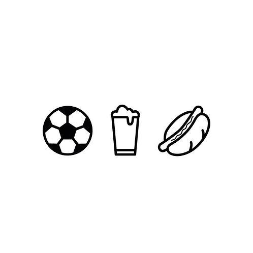Fussball, Bier & Bratwurst