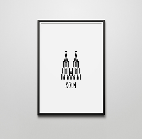 Köln Druck A4