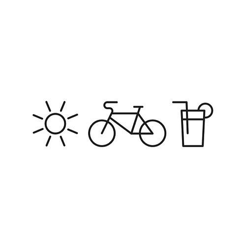Sonne, Fahrrad & Limo