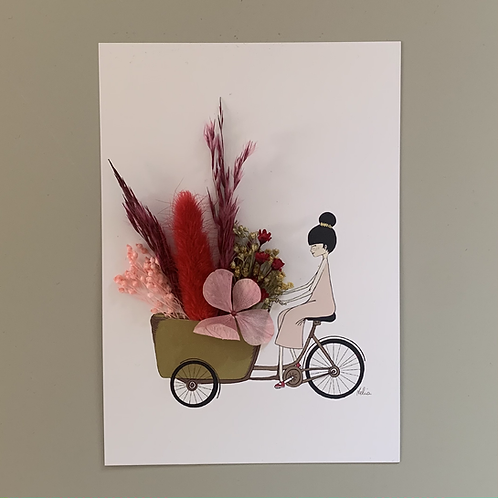"""A5 Druck """"A bicyclette"""""""