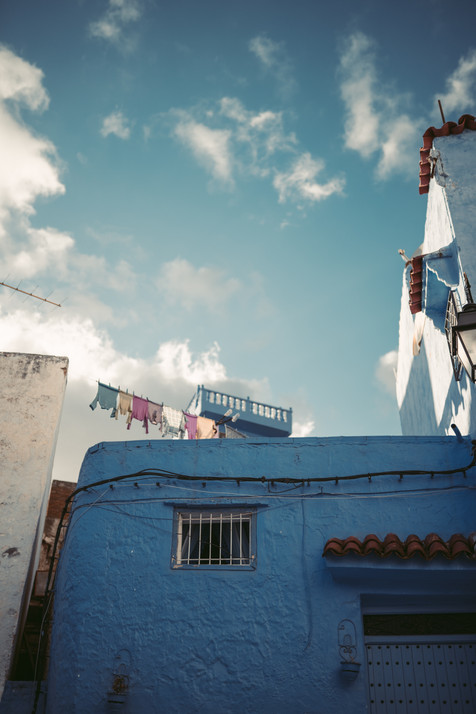 Chefchaouen Washing Line