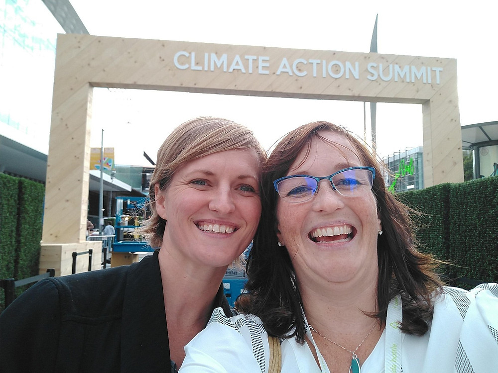Bridgett and Erika at the 2018 GCAS