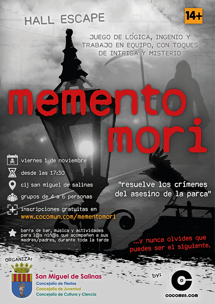 poster memento mori SAN MIGUEL_Mesa de t