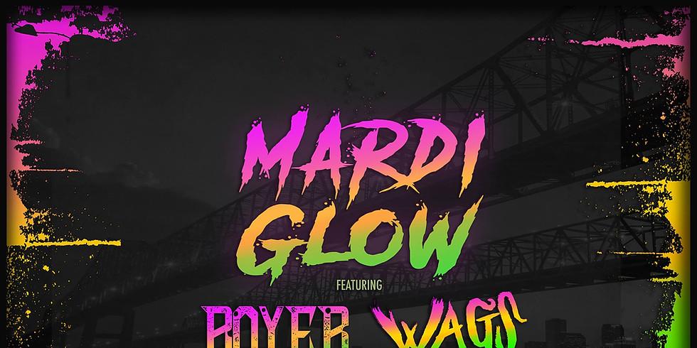 Mardi Glow Paint Party