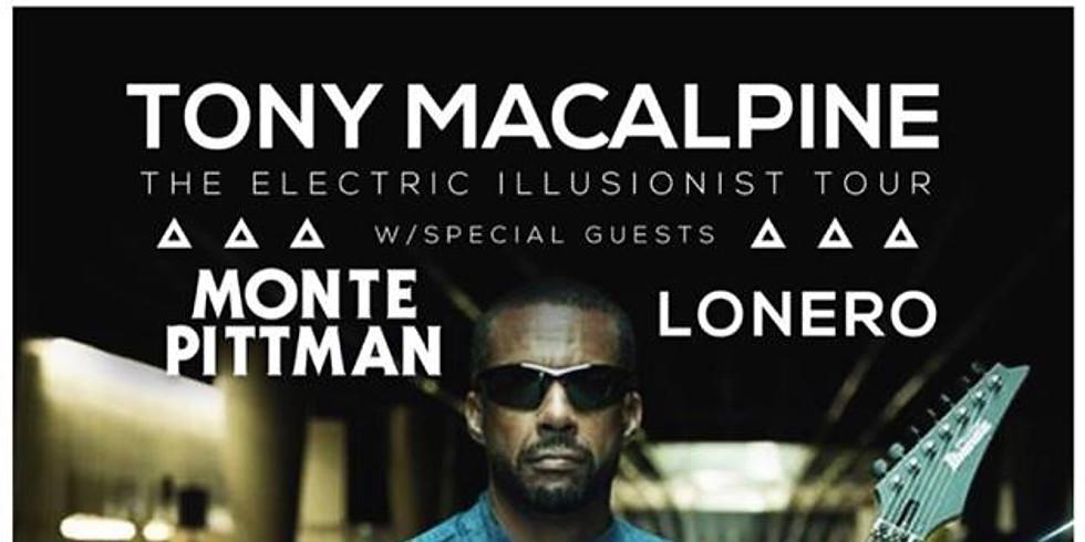 Tony MacAlpine - The Electric Illusionist Tour