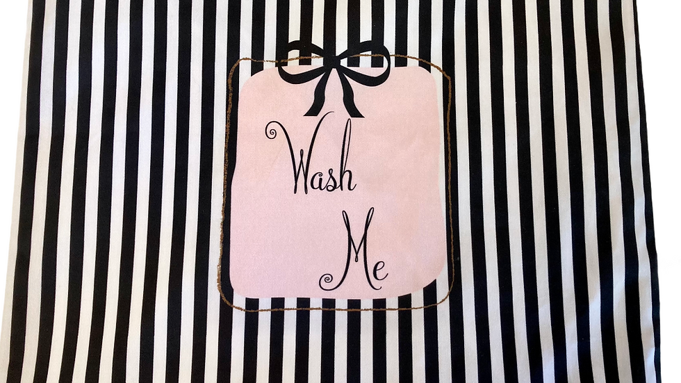Light Weight Cotton Twill -Wash Me Laundry Bag