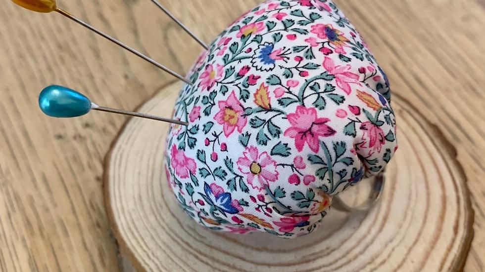 Adjustable Liberty Pin Cushion Ring