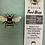 Thumbnail: Reusable, machine washable Food Wraps - Teal Bees