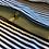 Thumbnail: Bee on teal Cotton  - Shoe Bag