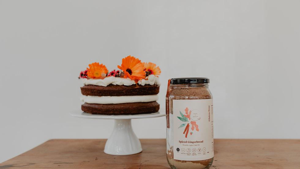 Spiced Gingerbread  Cake Kit