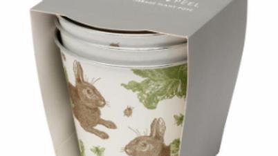 Rabbit & Cabbage Flower Pots Set of Three