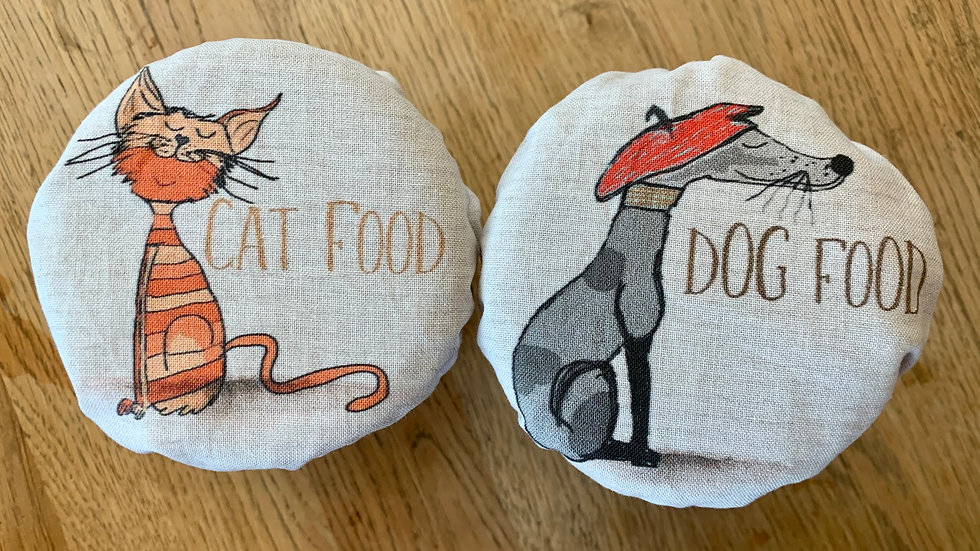 Small Cat and Dog Food Covers