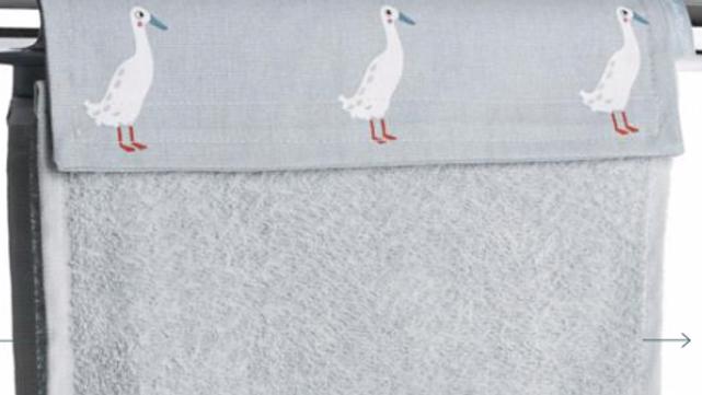 Roller Hand Towel - Runner Duck