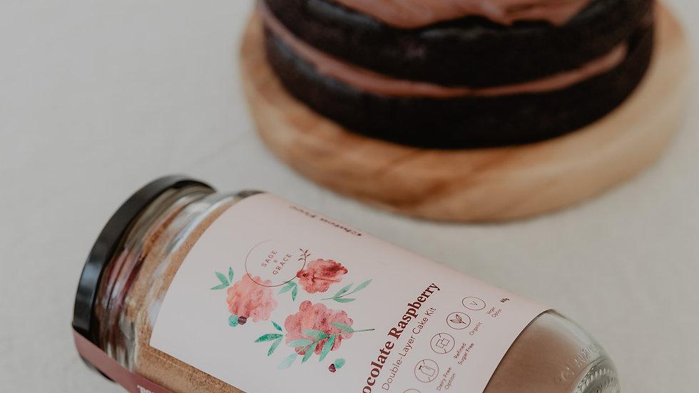 Chocolate Raspberry  Cake Kit
