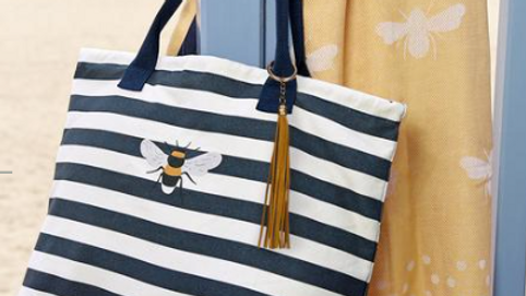 Bees Canvas Tote Bag