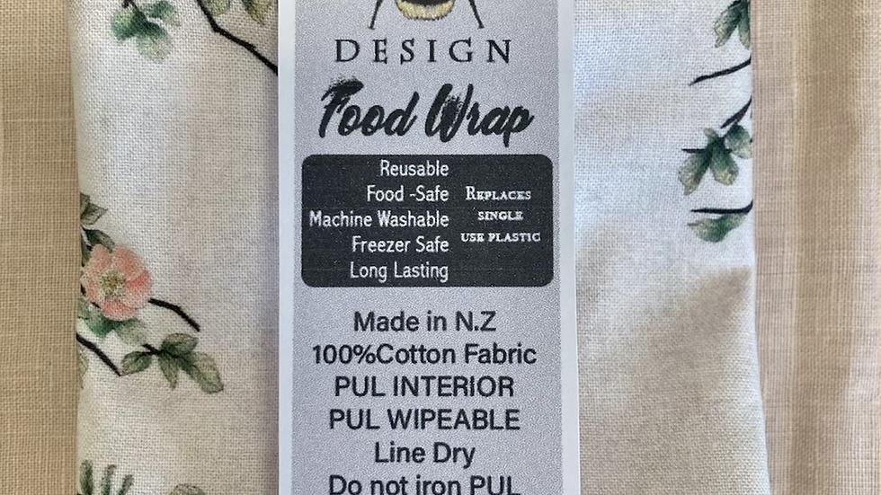 Reusable, machine washable Food Wraps - Bunnies