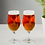 Thumbnail: Set of Two Stag Engraved Style Craft Beer Glasses
