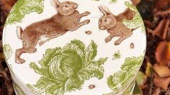 Rabbit & Cabbage Cake Tins Small, Medium ,Large