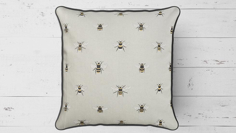 Bee Piped Cushion 40cmx 40cm