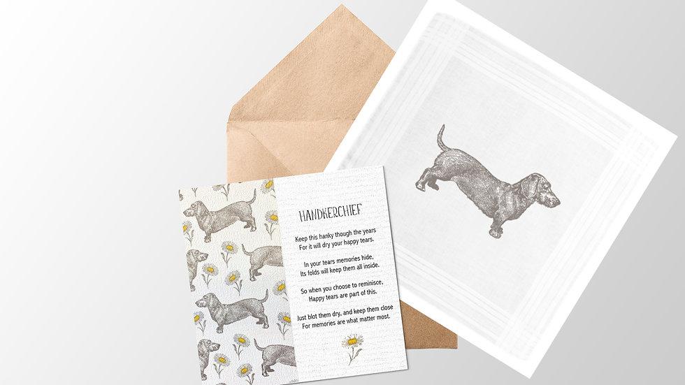 Handkerchief Card and Envelope