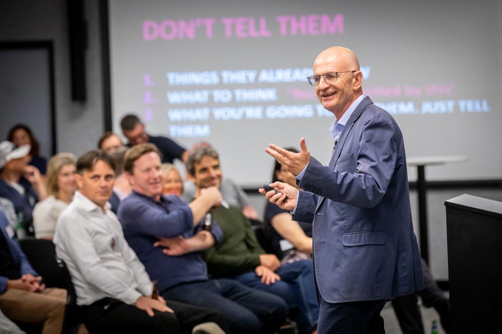 Innovation speaker, James O'Loghlin