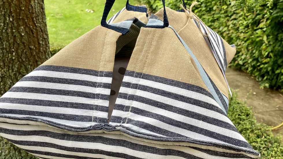 Henley Stripes Insulated Hostess Hammocks