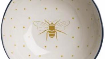Bees Stoneware Nibbles Bowl