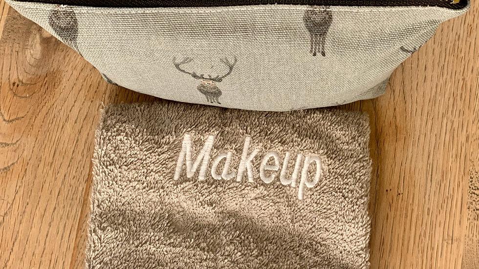 Stag,Make up Bag and Free Makeup Cloth
