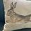 Thumbnail: Running Hare Watercolour Cushion