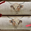 Thumbnail: Set of Four Highland Cow/Holly  Reuseable Crackers