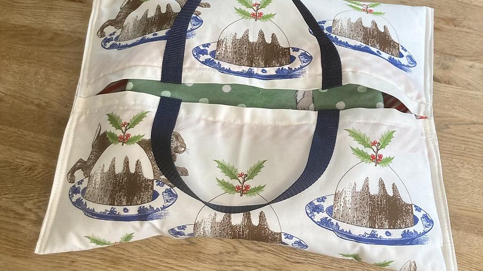 Rabbit and Christmas Pudding-InsulatedHostess Hammock