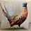 Thumbnail: Pheasant Watercolour Cushion