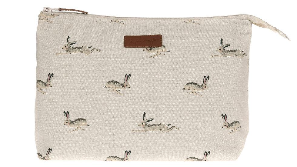 Canvas Wash Bag Hare