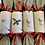 Thumbnail: Set of Four Terrier and Xmas Holly reusable crackers