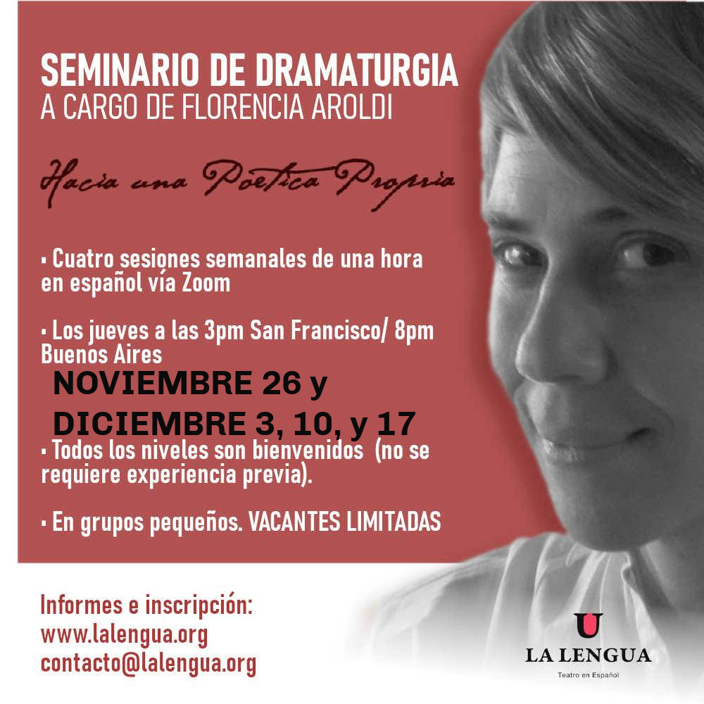 Seminario de Dramaturgia (en español)