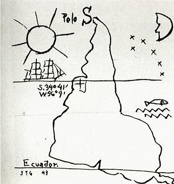 Tinta sobre papel (Fundación Torres García, Montevideo)