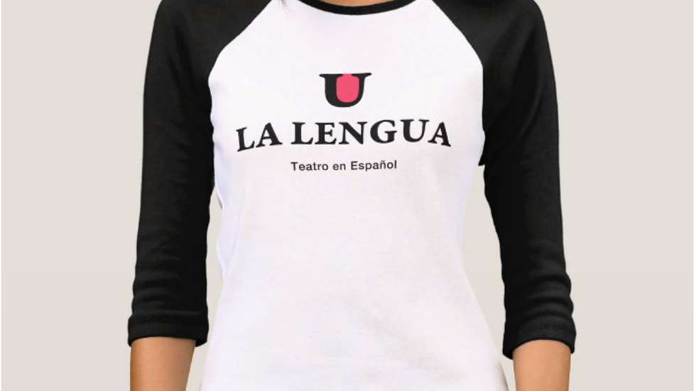 Camiseta Béisbol La Lengua (mujer)