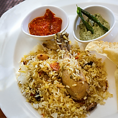 Malabar Dum Chicken Biryani
