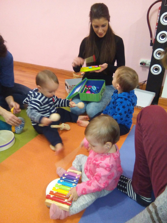 Curs de Música i Dansa (1-3 anys)